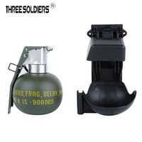 JUEGO M67 Grenade Modelo Set Tactical Molle Decoración estática Equipo de acción de acción en vivo en vivo y tiro de tiro