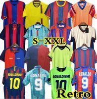 96 97 Barcelone messi Retro Jersey Figo Ronaldinho Ronaldo 08 09 07 91 Koeman Classic Rivaldo Henry Laudrup Guardiola Xavi Pique 1899 1999 Stoptitchkov