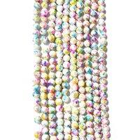 10mm 38pcs에서 10strands 유리 구슬 각각 여성 DIY 쥬얼리 액세서리 MGB019-MGB037