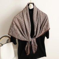 Lenços macios sarja sarja scarf quadrado para as mulheres elegante hijab lenço do cabelo feminino faixas de cabelo envoltório bandana foulard