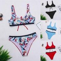 Bikini Set uscite Bagno per spiaggia Donna Tankini Casù da bagno Donna Lingerie Sexy Push Up Costume Costume Costume da bagno Costumi da bagno da donna