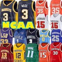 Ncaa dwyane 3 wade jersey shaquille 32 faculdade oneal 11 Irving 25 centavo kyrie kevin hardway 7 durant 35 james endurecer basquete
