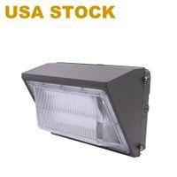 США фондовая уличная лампа 150 Вт Светодиодная настенная упаковка огни с сумерками до рассвета 9600LM 5000K дневной свет IP66 водонепроницаемый Уолли монтирование на открытом воздухе освещение