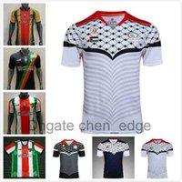 S-XXL 2021 Jersey de football en Palestine 21 22 Thaï Thaï Qualité Palestiniens Palestiniens Palestiniens Palestiniens Palestino Rosende Football Shirt