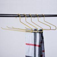 Wardrobe Hangers Nordic Rose Gold Iron Clothes Tie Towel Scarf Hanging Racks Wall Hook Storage Organizer Decor GWB9109