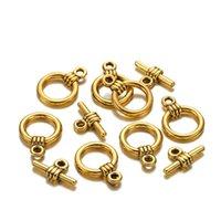 20 satz / los Metall OT Toggle Claspe Haken Armband Halskette Anschlüsse für DIY Schmuck Finden Zubehör Zubehör Lieferungen 1539 Q2