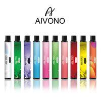 Dispositivo de cigarrillo de vape e vape e original AIVONO AIM Pro con batería de 1000mAh 6.5ml POD 1500 Puffs Kit de vaporizador