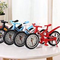 새로운 자전거 알람 시계 데스크탑 테이블 시계 장식 어린이 알람 시계 학생 기숙사 홈 장식 크리스마스 선물 EWE7692