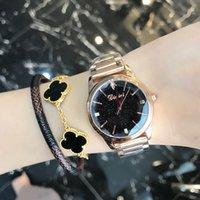 Montre Dimini estrela relógio moda senhora de quartzo temperamento compacto banda de aço impermeável senhora
