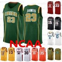 0 WESTAROOOOK 13 Harden 15 Leonard Iverson Anthony NCAA College League Jerseys de basket-ball 23 James 33 Bryant 30 Curry 35 Hommes Durant Jersey