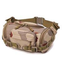 Stuff Sacks D5BA Waist Pack Fanny Bag Military Crossbody Shoulder Messenger Outdoor Hunting Hiking Multifunctional Storage