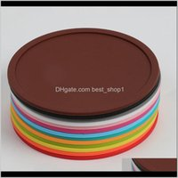 Mats Pads Multicolour Wars Roachers 10см Sile Pake Чашка Чашка Термоустойчивый Не скользящий стол декор гаджетов Placemat 2SK G2 GVDBX OK1F9