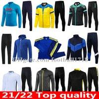 20 21 22 Napoli fotbollsträningspassjacka män Kids Hoodie 2021 2022 Neapel Football Tracksuit insigne h.lozano Mertens jogging chandal veste kostymer