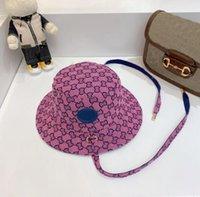 6colors 남성 여성 디자이너 양동이 모자 패션 여러 가지 빛깔의 전체 편지 접는 야구 모자 casquette bonnet beanie luxurys Fedora 장착 된 모자 태양 모자