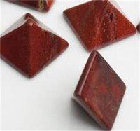 Piramit Doğal Taş Kristal Şifa Wicca Maneviyat Oymalar Taş Zanaat Kare Kuvars Turkuaz Taş Carnelian Takı 580 S2