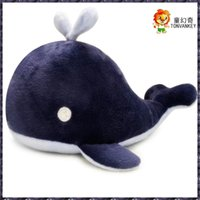 Japanese blue whale creative dolphin plush toy children's baby comfort doll female gift