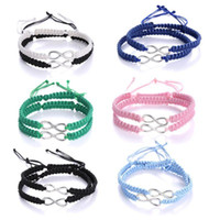 Link, Chain 2Pcs Infinity Love Figure 8 Friendship Bracelet Braided Kit