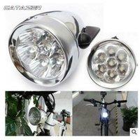 Lumières de vélo Track Light Durable LED Métal Chrome Chrome Vintage Vélo Retro Bouge de brouillard rétro