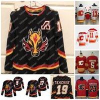 Matthew Tkachuk Calgary Flames 2021 Retro Retro Jerseys Johnny Gaudreau Nikita Zadorov Sean Monahan Blake Coleman Milan Lucic Mikael Backlund Andrew Mangiapano