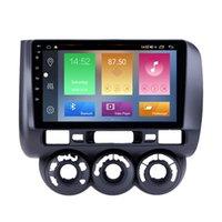 Auto-DVD-Player mit BT-Radio Android für Honda Jazz-Handbuch AC 2002-2008 Auto-Stereo-Unterstützung DVR CARPLAY SWC 3G-Backup-Kamera
