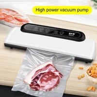 Food Savers & Storage Containers Electric Vacuum Packaging Machine For Home Kitchen Saver Commercial Sealing Packer
