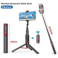 Ulanzi SK-01 Wireless Bluetooth Selfie Stick Foldable Tripod Monopods For iPhone 12 Pro Max 12 Mini With Remote Control