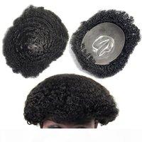 Pelucas de piel súper delgada Pelucas de pelo humano Troupee