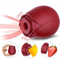 Rose Flower Clitoral Sucking Vibrator 10 modes Suction G-spot Stimulator Vaginal Massager Sex Toy for Women Adults