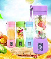 2021 portátil usb fruta elétrica Juicer handheld vegetal suco maker liquidificador recarregável mini suco fazendo copo com cabo de carregamento
