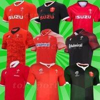 Tayland Dünya Kupası Ulusal Takımı Galler 2019 2020 2021 Rugby Jersey 20 21 Eve Dight Galce Gömlek Maillot Eğitim Tayland Gömlek S-5XL