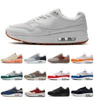 Top Quality 2021 max 1 87 Chaussures de course Hommes Femmes Air Cabot Kiss of Death Chapa Airmaxs N7 Taupe Haze London Amsterdam Denham Baskets en plein air 36-45