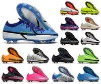 2022 رجل فانتوم GT II 2 GT2 النخبة fg كرة القدم أحذية كرة القدم شحن الدافع الأسود العاهرة skepta حزمة 3d العقرب بنين الأحذية المرابط حجم 39-45
