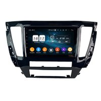 "4 GB + 128 GB 9 ""PX6 Android 10 Auto DVD-Player DSP Radio GPS-Navigation für Mitsubishi Pajero Sport Montero 2020 Bluetooth 5.0 WiFi Easy Connect"