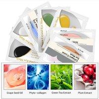 Lanbena 24k Gold Eye Care Mask Mask Collagen Patches Anti Dark Circle Solffiness Eyes Bag Geisturizing Skin-Care 6 Styles