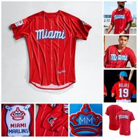 Marlins 2021 Chouth Connect Miami Jersey Brian Anderson Miguel Rojas Jonathan Villar Lewis Brinson Caleb Smith Horge Alfaro Jon Berti Starling Marte