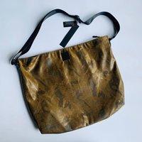 Duffel Bags Men's Women's Tooling Camouflage Waterproof Badge Large Messenger Bag 50cmx42cm