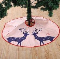 얼굴 마스크와 함께 4의 가족을위한 새로운 크리스마스 트리 스커트 삼 베 크리스마스 트리 장식 손 sanitized 홈 크리스마스 장식 nhb10421