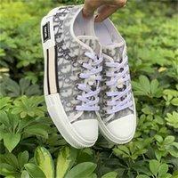 19SS Air Dior Converse Oblique Paris Baskets Sneakers Kim Jones KAWS Triple S Kim Jones Kanye Hommes Femme Chaussures Women Men Casual Shoes 3194