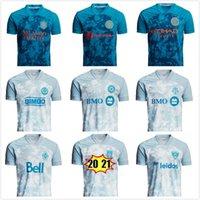 MLS Parley Primeblue Futebol Jerseys 2021 2022 Austin Orlando Cidade Filadélfia União União Jersey Colorado Columbus Toronto FC D.C. United Sporting Kansas Camiseta