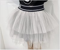 훌륭한 품질의 여자 스커트 여름 아기 소녀 공주 드레스 패션 키즈 트렌드 통기성 메쉬 수 놓은 드레스 아이 의류 어린이 투투 스커트