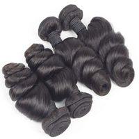Top Quality Loose Wave Bundle Original Brazilian Human Hair Extension Natural Color Cuticle Aligned For Black Women