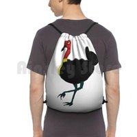 بوش الأسترالي تركيا حقيبة الظهر الرباط حقيبة ركوب التسلق رياضة أستراليا الطيور الحيوانات الحياة البرية الكرتون