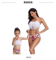 Women's Swimwear Cross-border For 2021 European Fringe Split Bikini Manufacturers
