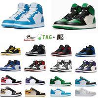 2021 Jumpman Low 1 1S Высокоправные баскетбольные Обувь Top Og Black Toe Cap Court Purple SP Travis Scotts Мужские и женские кроссовки 36-46 евро