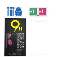 Tempered Glass Screen Protector 2.5D 9H For iphone 12 11 mini Pro Max XS XR 8 Plus Samsung S6 S5 S4 with package