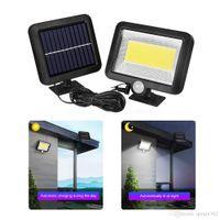 LED Güneş Enerjisi Sokak Işık PIR Hareket Sensörü Duvar Lambası Ev Bahçe Parkı için Dış Spot Spot Işıklar