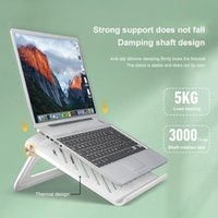 Portable Laptop Stand Holder For Desk Desktop Notebook Computer Heat Sink Bracket Cell Phone Mounts & Holders