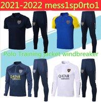 2021 Boca Juniors Tracksuit Mens Training Suit 20/21 Polo Giacca a vento TEVEZ MARADONA MOURA ABILA DE ROSSI JRS Sport Footb