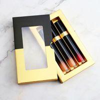 Toptan Güzellik Kozmetik Özel Etiket Makyaj Dudak Parlatıcısı Rujlar Özel Hiçbir Logo Su Geçirmez Kadife Mat Sıvı Ruj Lipgloss Set 15 Renkler