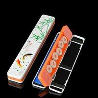 낚시 액세서리 휴대용 1 조각 다기능 플로트 라인 권선 보드 저장 상자 태클